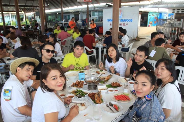 กินมื้อเที่ยง@ชมวิวซีฟู๊ด/ท่องเที่ยวประจำปี