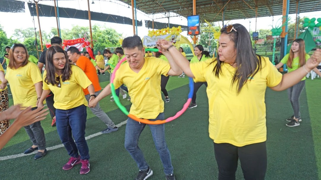 แข่งขันกีฬาสี