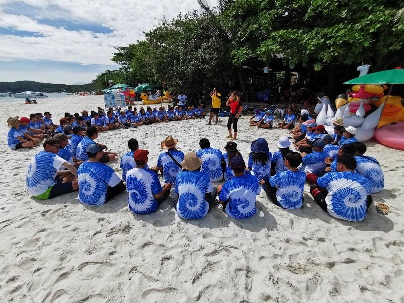 กิจกรรมทีมบิวดิ้งชายหาด10
